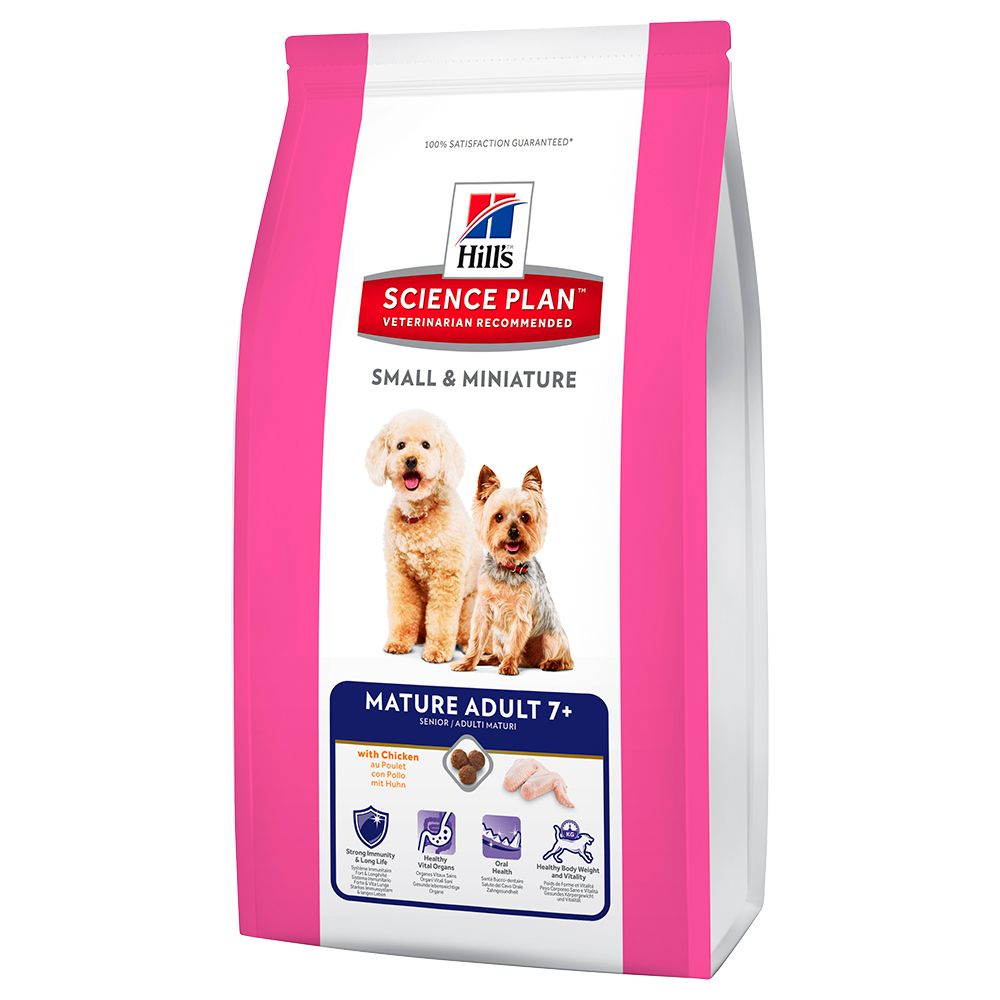 Hill's Science Plan Canine Small & Miniature Mature Adult 7+ - Chicken - 3kg