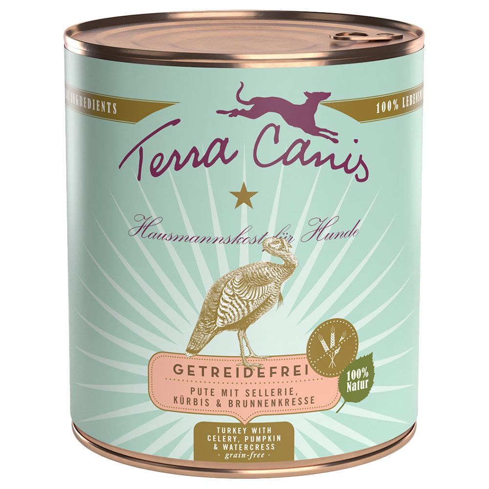 Terra Canis Grain-Free 6 x 800g - Venison with Potatoes, Apples & Lingonberries