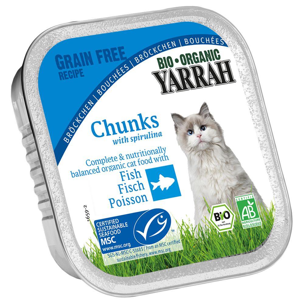 Sparpaket Yarrah Bio 48 x 100 g - Bröckchen: Hu...