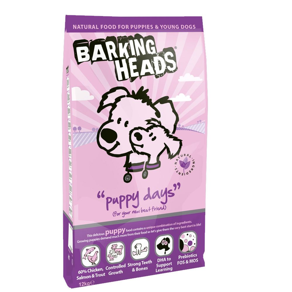Barking Heads Puppy Days Chicken & Salmon