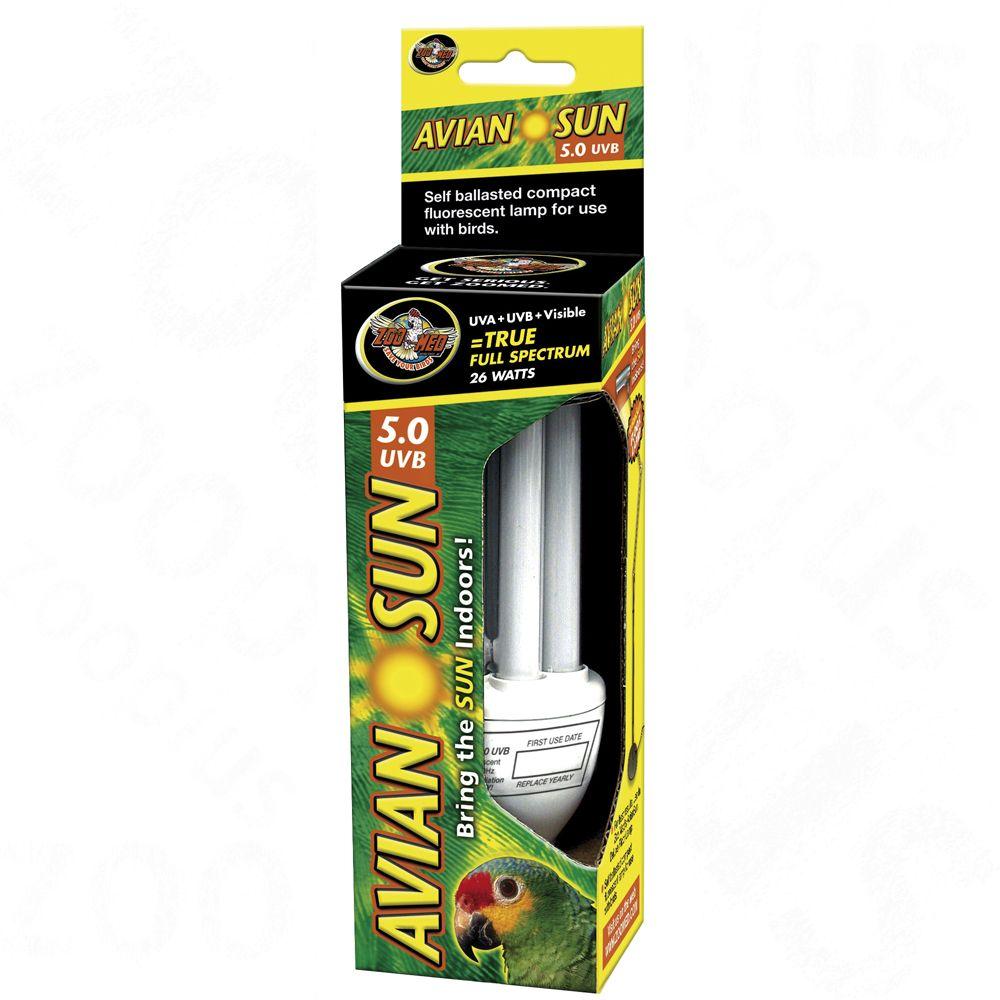 Świetlówka dla ptaków AvianSun 5.0 UVB Compact Fluorescent - 20 W