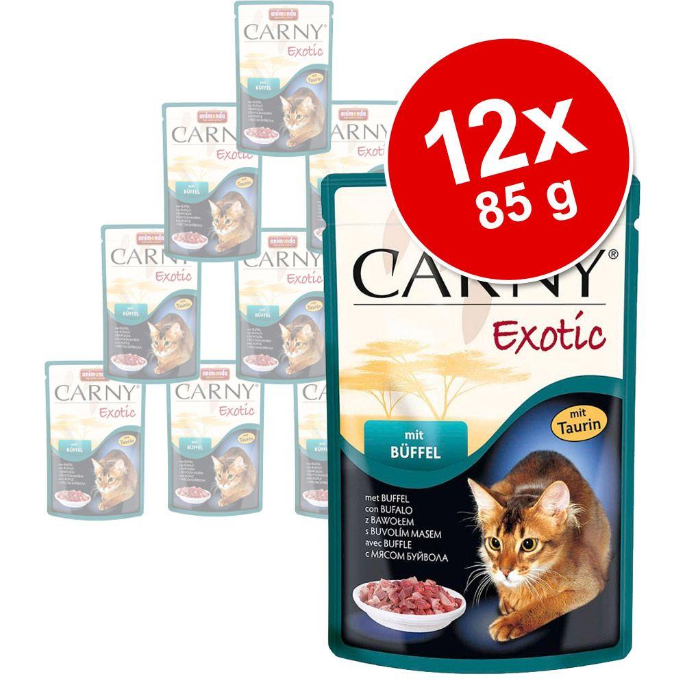 Image of Animonda Carny Exotic 12 x 85 g - Känguru