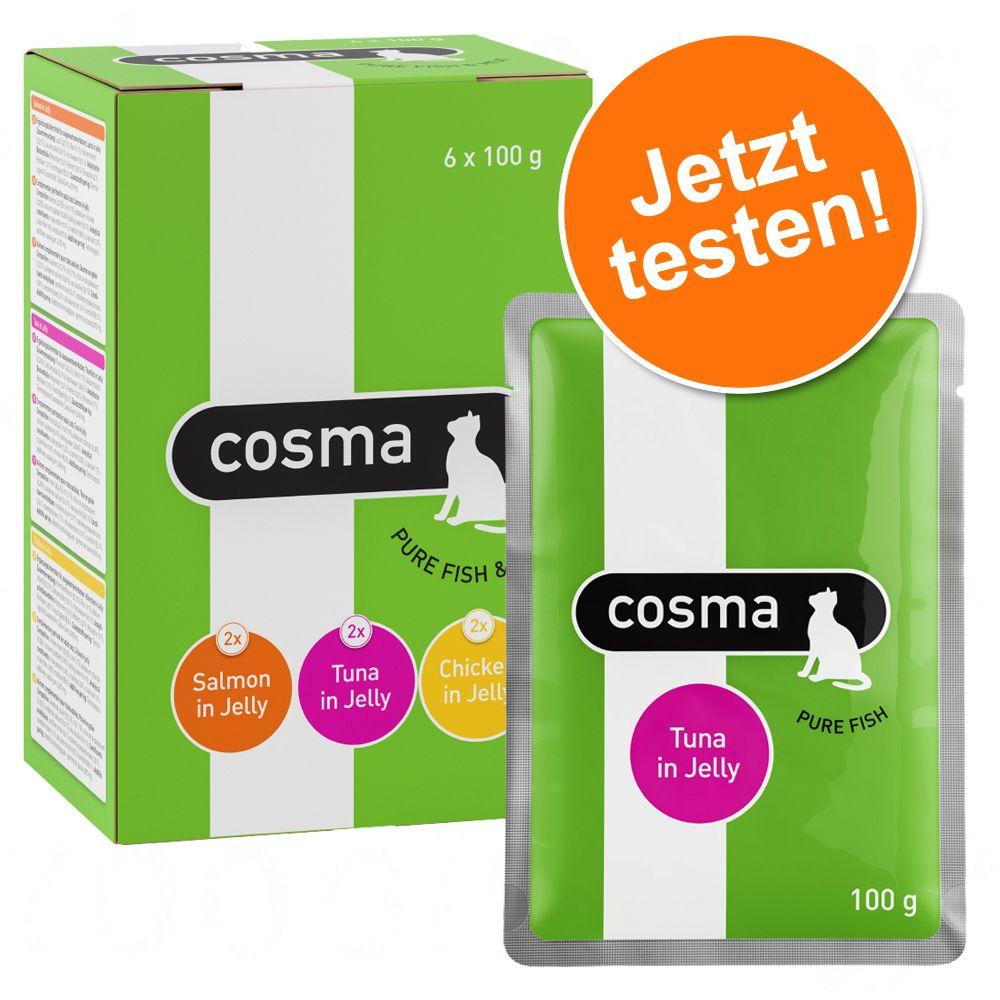 Image of Gemischtes Probierpaket Cosma Original Frischebeutel - 12 x 100 g
