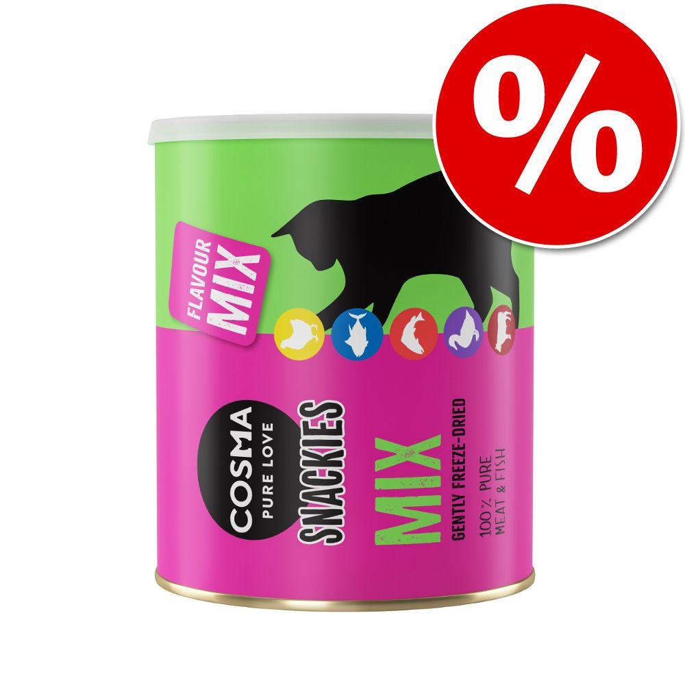 Cosma Snackies Maxi Tube & Cosma Snackies XXL Maxi Tube zum Sonderpreis! Mix mit 5 Sorten 150 g