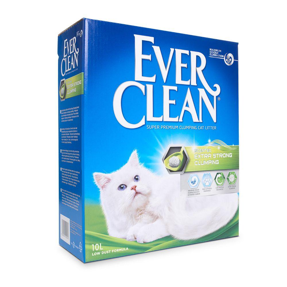 Ever Clean® Extra Strong Klumpstreu - Frischeduft - 10l