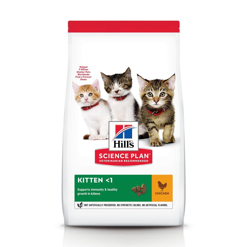 3kg Kitten Healthy Development poulet Hill's Feline Croquettes pour chaton