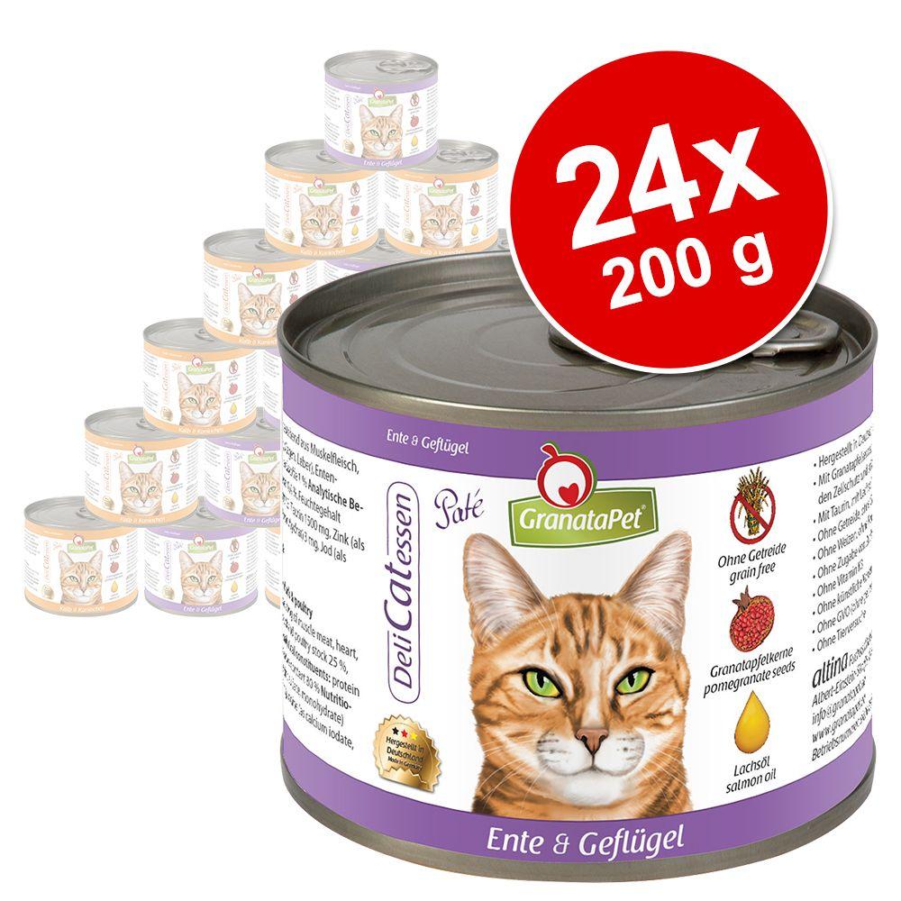 Sparpaket Granata Pet DeliCatessen 24 x 200 g -...