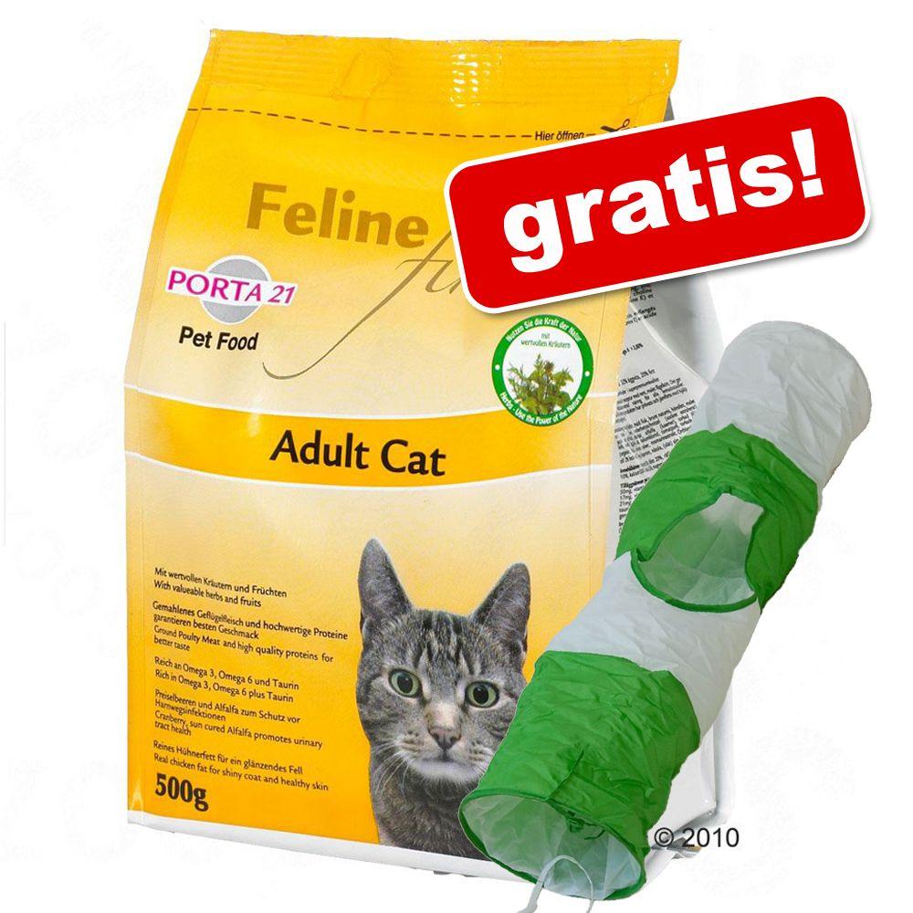 10 kg Porta 21 + en kattunnel på köpet! – Finest Adult Cat