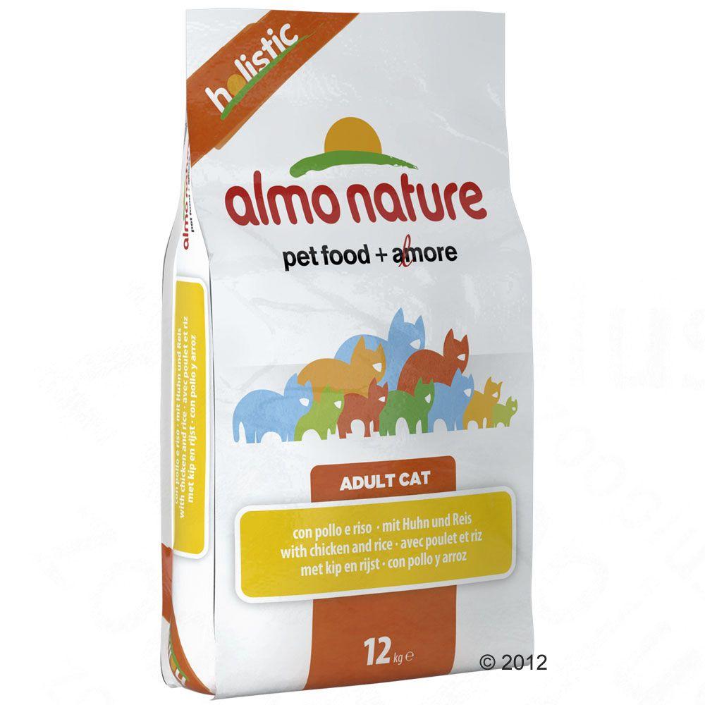 Almo Nature Holistic, kurczak z ryżem - 2 x 12 kg