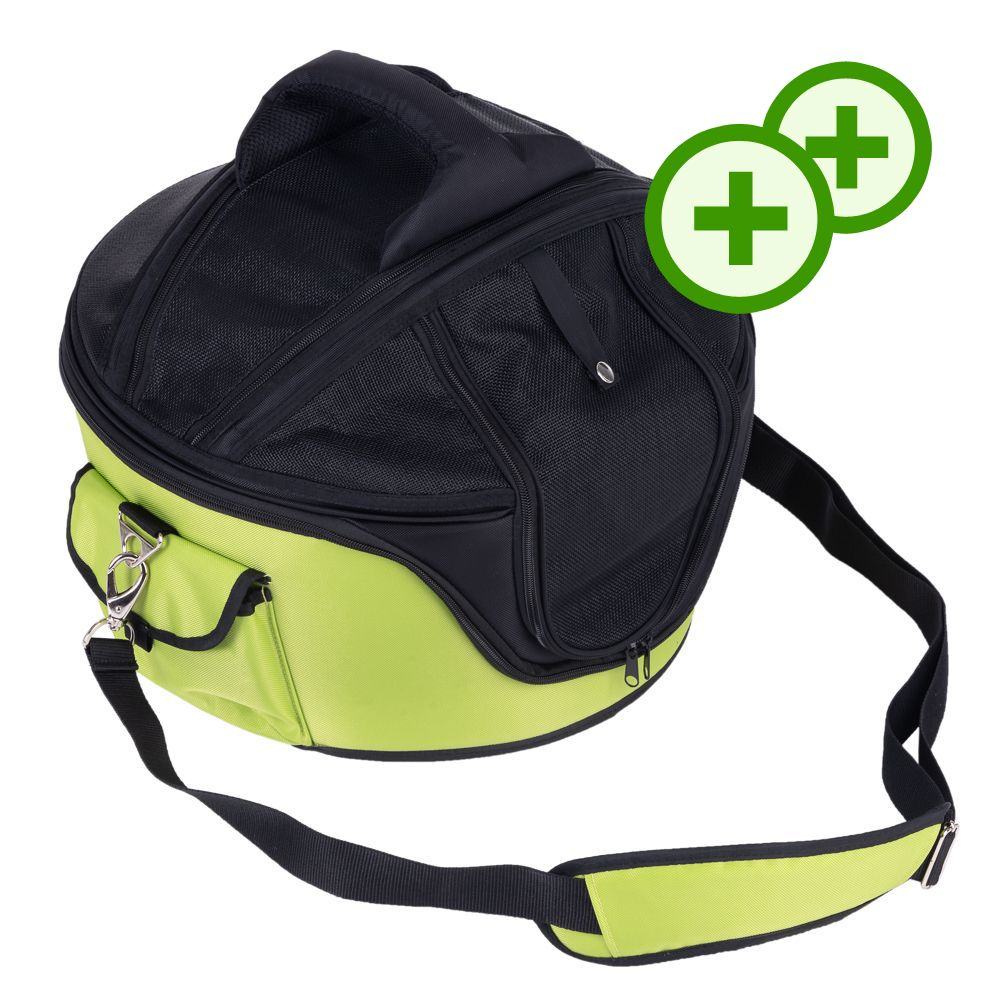 Sandy Hard Shell väska - med dubbla bonuspoäng! - Storlek: L 46 x B 44 x H 35 cm