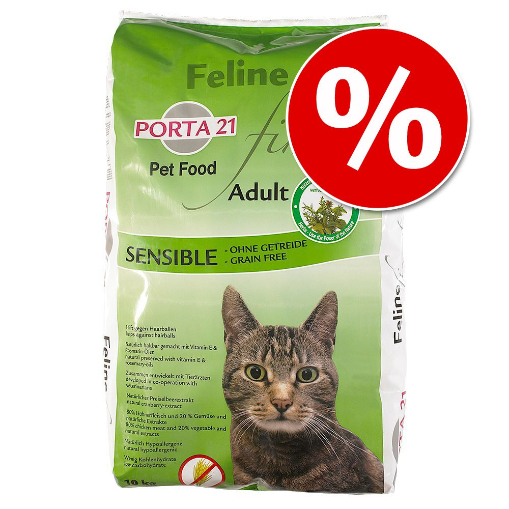 30 kr rabatt! Porta 21 torrfoder 10 kg - Holistic Cat Anka & ris