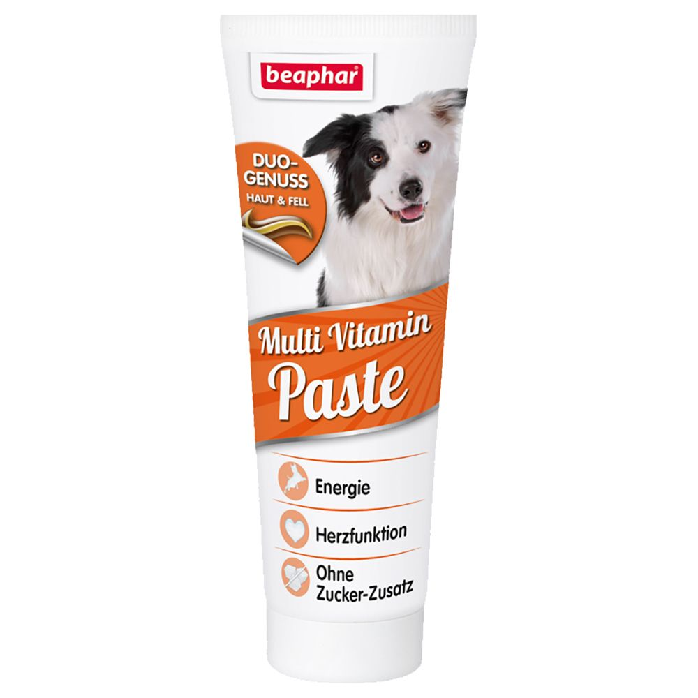 beaphar Multi Vitamin Dog Paste with Biotin 250g