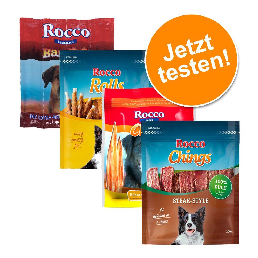 Gemischtes Probierpaket Rocco Snacks - 4 versch...