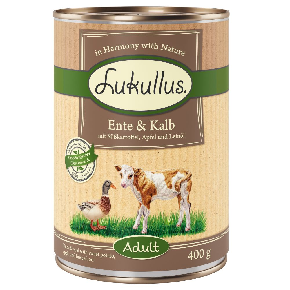 6 x 800g Lukullus Mixed Trial Pack Grain-Free
