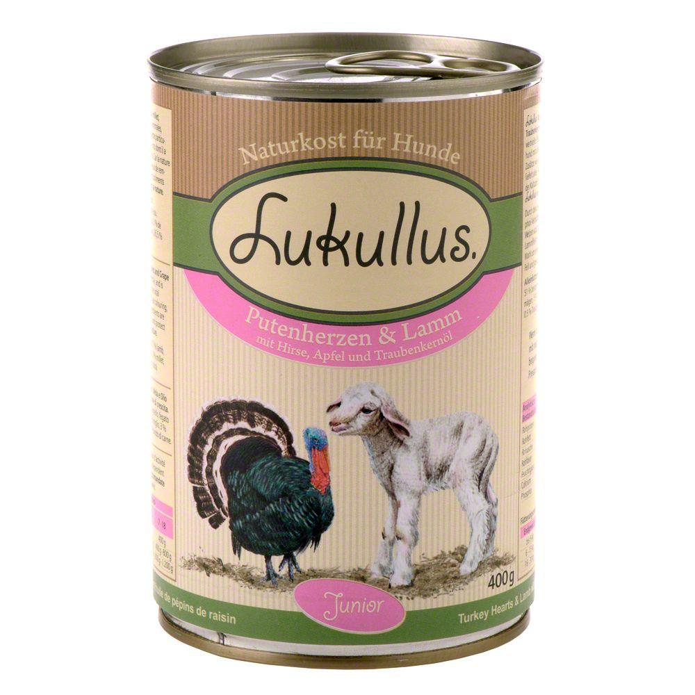 Lukullus Junior Saver Pack 24 x 400g - Chicken & Veal