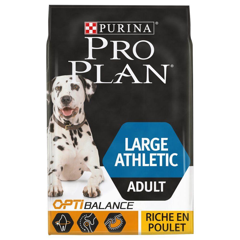 4kg Large Adult Athletic Pro Plan Croquettes pour chien