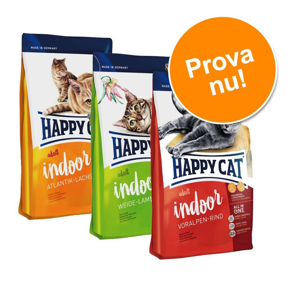 Blandpack: Happy Cat Indoor Adult - Blandpack: 3 x 1,4 kg