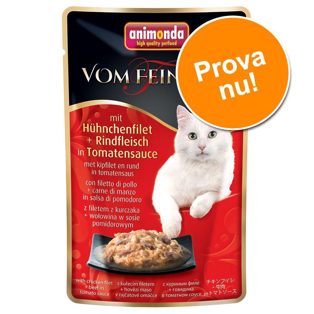 Provpack: Animonda vom Feinsten Pouch - Stort provpack (18 x 50 g)