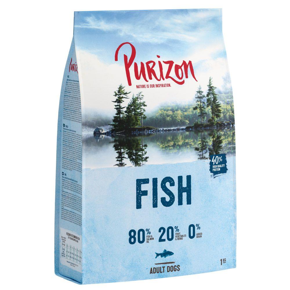 New Recipe: Purizon Fish Adult – Grain-free - 4kg