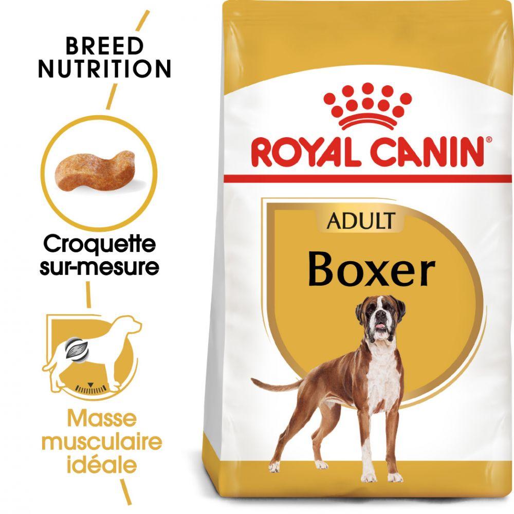 2x12kg Boxer Adult Royal Canin Breed Croquettes pour chien