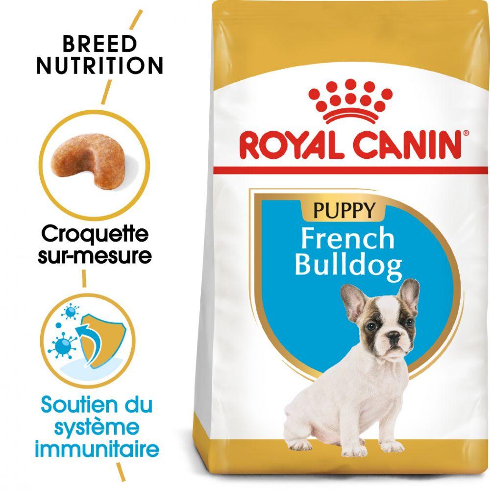 10kg Bouledogue Français Puppy/Chiot Royal Canin - Croquettes pour chiot