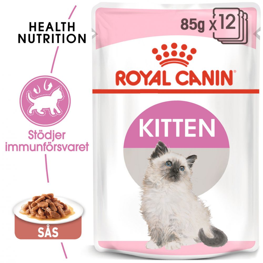 Royal Canin Kitten Instinctive i sås - 24 x 85 g Mix Kitten Instinctive in Gravy & Jelly
