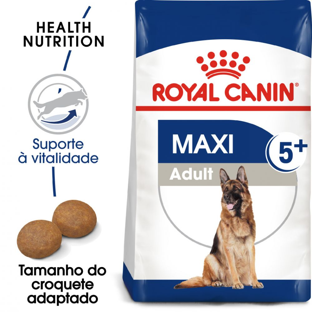 Royal Canin Maxi Adult 5+ - Pack económico: 2 x 15 kg