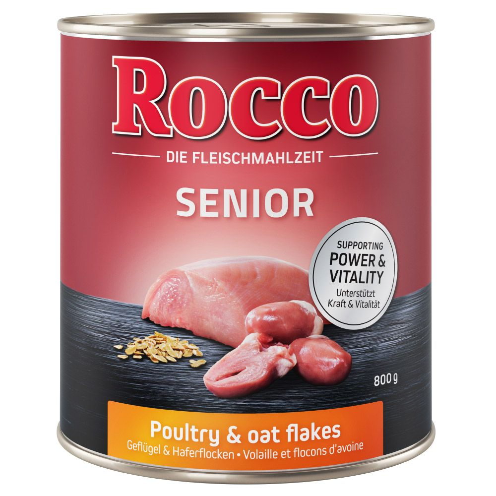 Poultry & Oats Senior Rocco Wet Dog Food