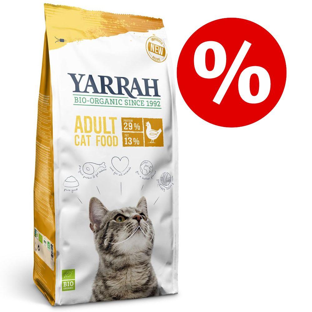 10 % rabatt på 10 kg Yarrah Organic torrfoder! Organic med ekologisk kyckling & fisk - spannmålsfritt
