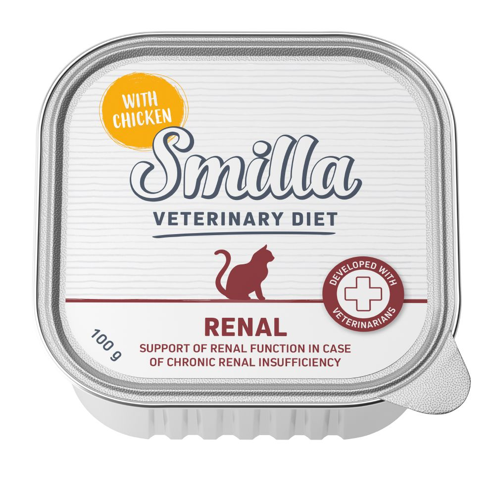 Smilla Veterinary Diet Renal Wet Cat Food