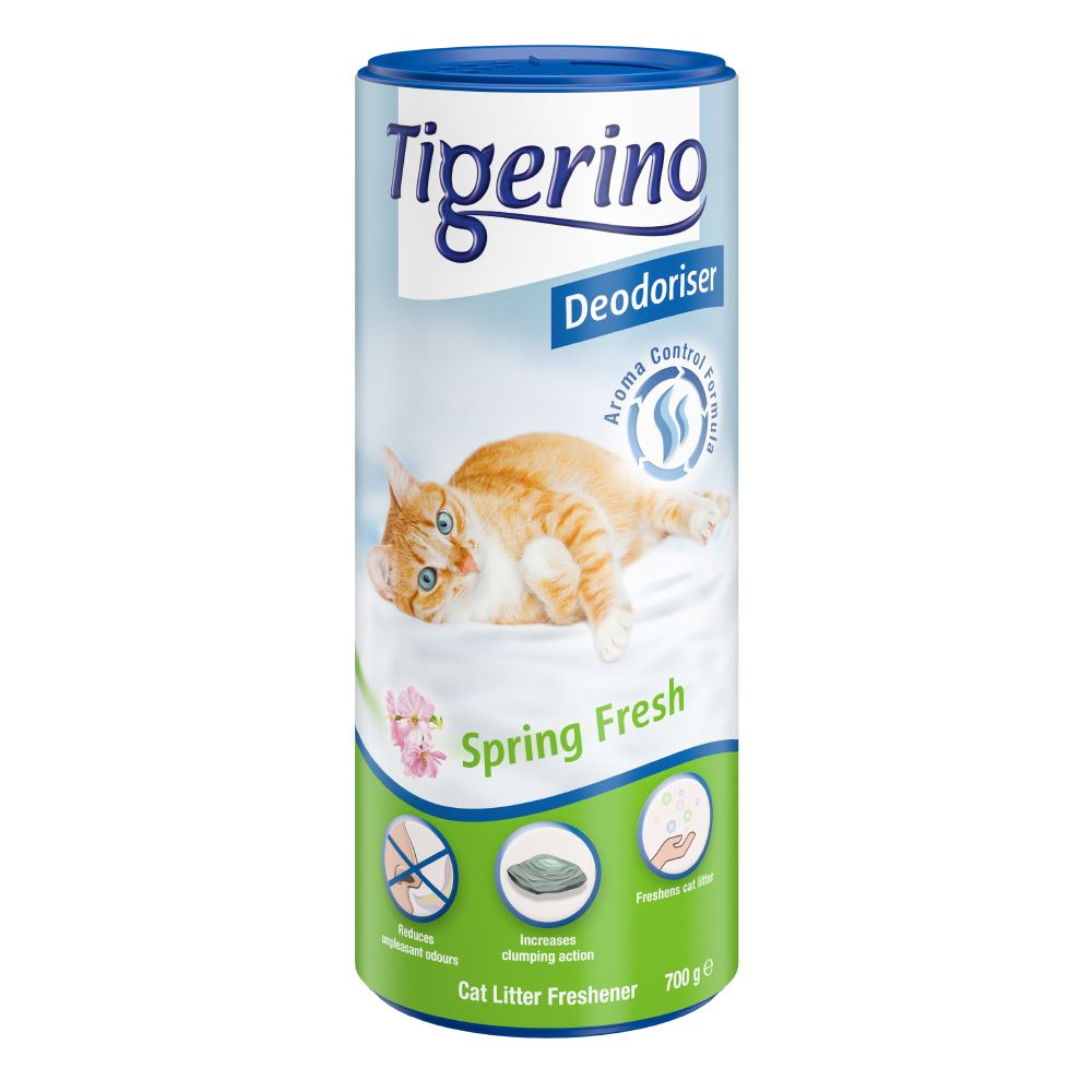 Image of Deodorante per lettiera Tigerino Deodoriser Spring Fresh - 700 g