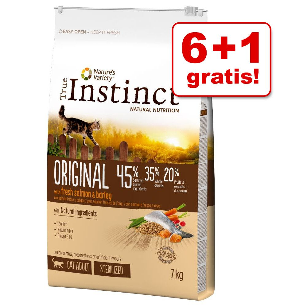 Image of 6 kg + 1 kg gratis! 7 kg True Instinct Original Adult - Pollo