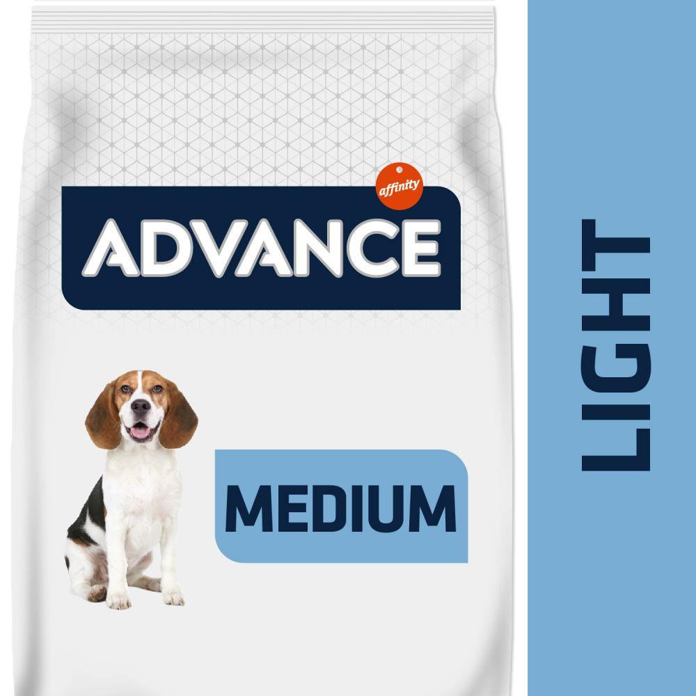 12kg Medium Light poulet Advance - Croquettes pour chien