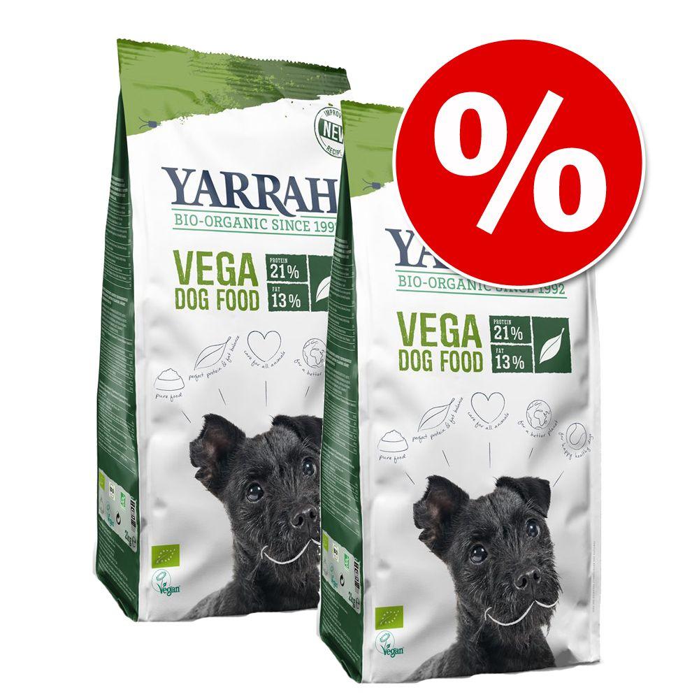 Ekonomipack: Yarrah Organic ekologiskt hundfoder till lågpris! - Spannmålsfritt (2 x 10 kg)
