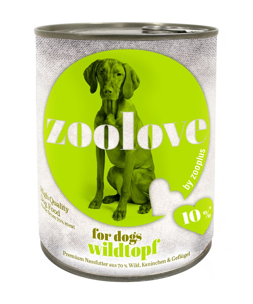 zoolove Hearty Game Casserole Wet Dog Food – 6 x 800g