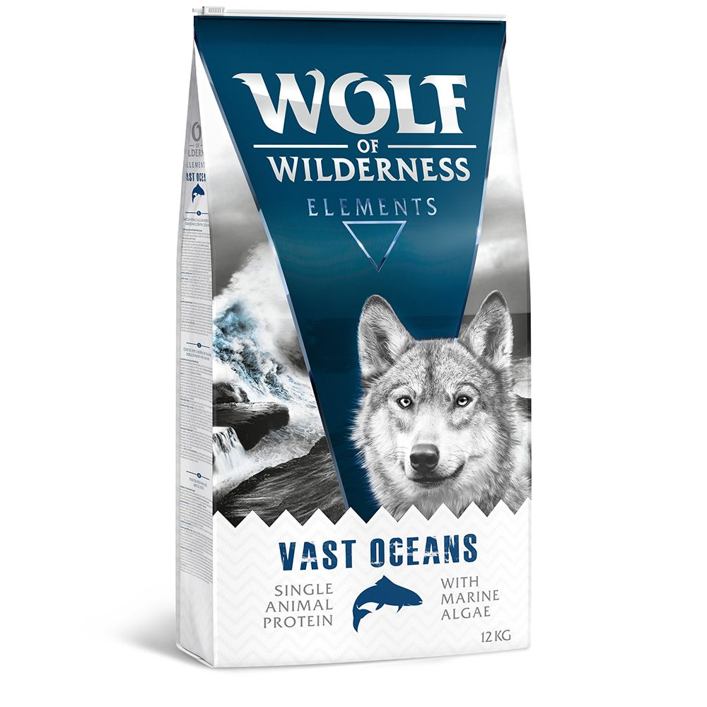 Vast Oceans Fish Wolf of Wilderness Dry Dog Food