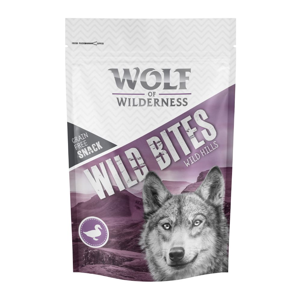 Wolf of Wilderness Wild Bites Dog Snacks Wild Hills