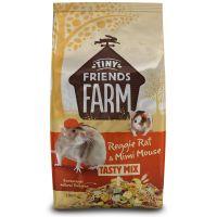 Tiny Friends Farm Reggie Rat & Mimi Mouse Tasty Mix - 2.5kg