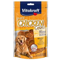 Vitakraft Pure Chicken Coins - 80g