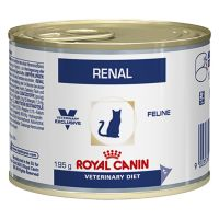 24 x 195 g Royal Canin renal kip Veterinary Diet Kattenvoer