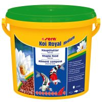 Sera Koi Royal Medium Granules - 21l