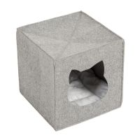 Felt Cat Den for Shelves - 33 x 33 x 33 cm (L x W x H)