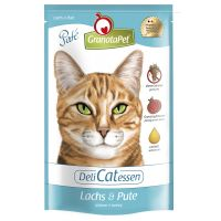 12 x 85g GranataPet Cat DeliCatessen Pouches - 10 + 2 Free!* - Turkey & Pheasant