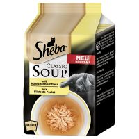 Sheba Classic Soups Saver Pack 32 x 40g - Tuna Fillets