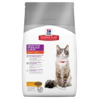 Hills Science Plan Adult Cat Sensitive Stomach & Skin - Chicken - Economy Pack: 2 x 5kg