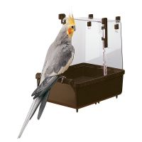 Ferplast Large Parakeet/Cockatiel Bath House - 23 x 15 x 24 cm (L x W x H)