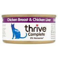 Chicken Breast & Chicken Liver Thrive Complete Wet Cat Food