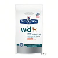 Hill's canine secco - w/d  prescription diet - - 12 kg.
