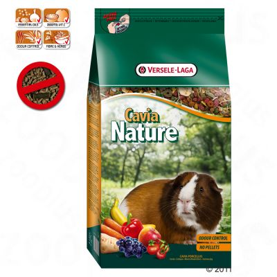 Versele-Laga Cavia Nature marsvinsfoder – 2,5 kg