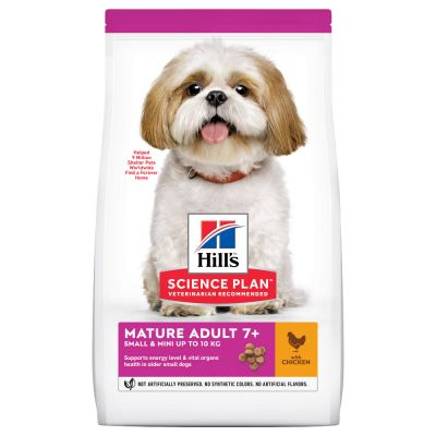 Hill's Science Plan Mature Adult 7+ Small & Mini Chicken - 6 kg
